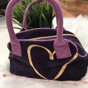 Victoria's Secret purple small hobo bag